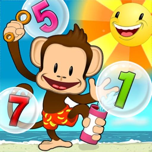 Monkey Math School Sunshine app logo