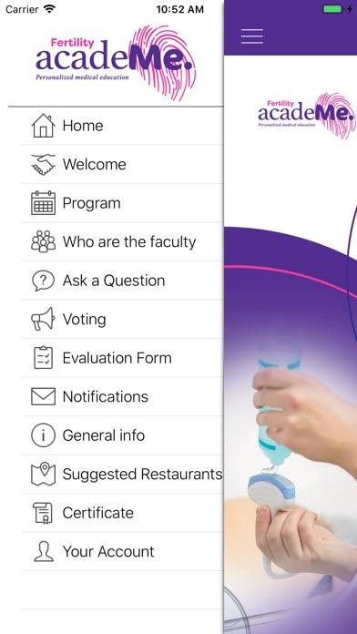 Fertility acadeMe Lisbon Screenshot