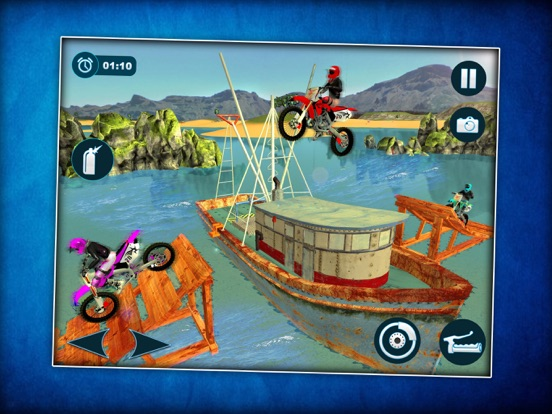Waterbike Surfing Stunts 3D screenshot #5