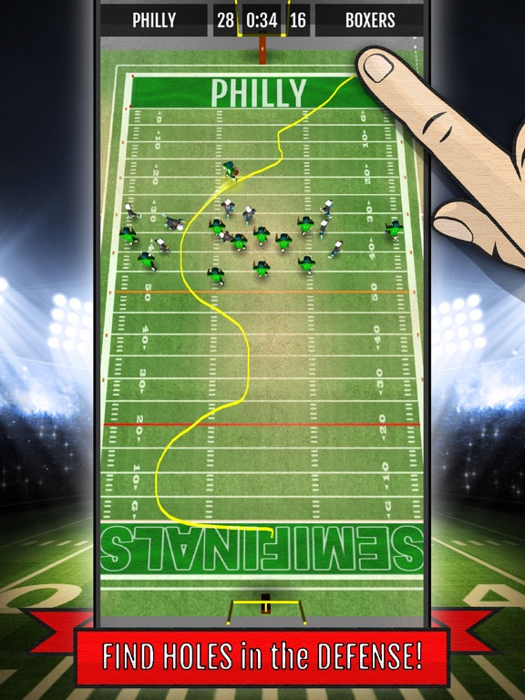 Ted Ginn: Kick Return-ipad-1
