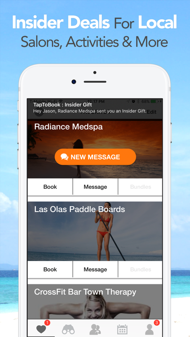 TapToBook - The Best of Miami and Fort Lauderdale - Florida Booking for Appointments and Activities screenshot
