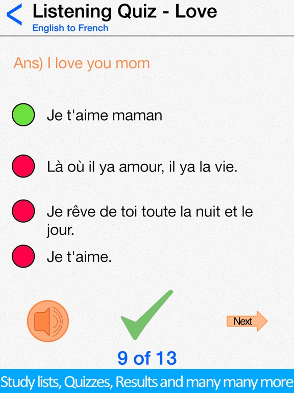 Screenshot #4 for Learn French for Beginners !