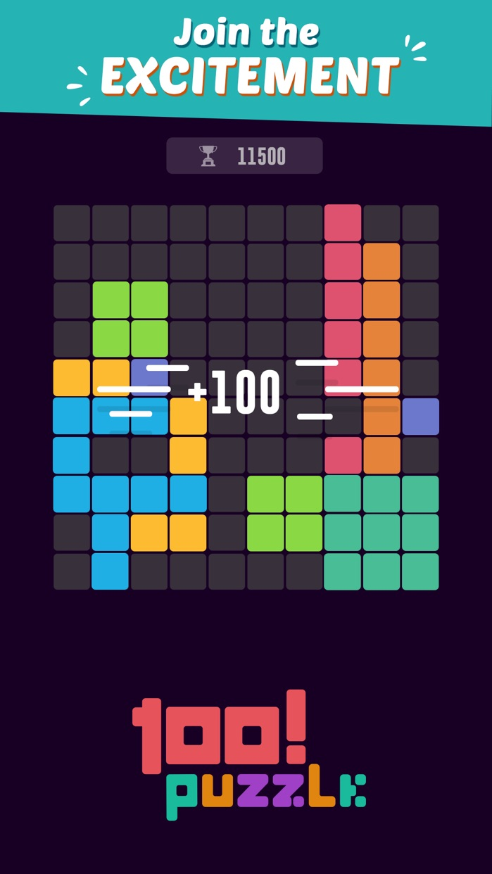 100! Block Puzzle Screenshot
