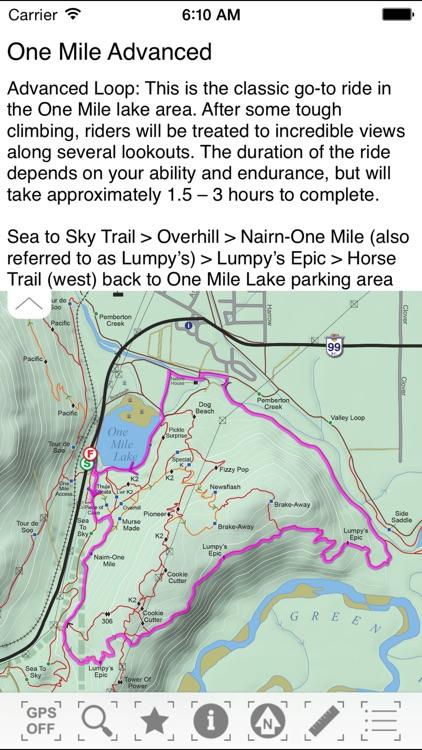 Pemberton MTB Trail Guide screenshot-3
