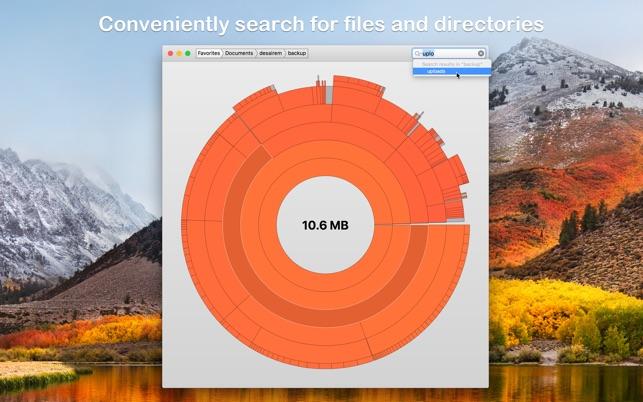 Disk Graph Screenshot