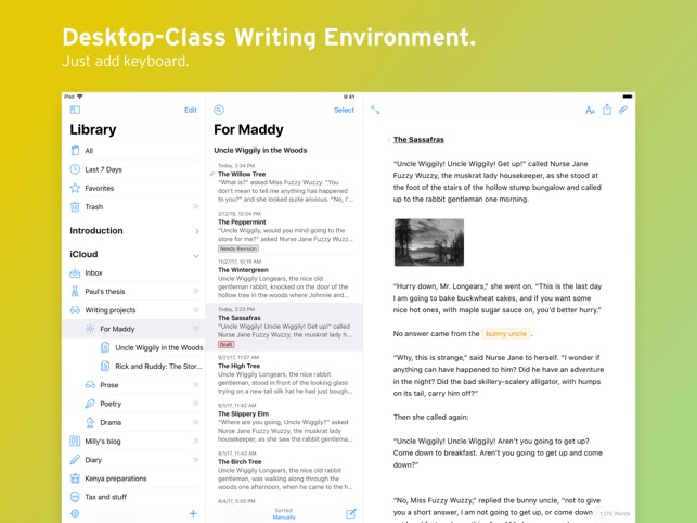 Ulysses on the App Store