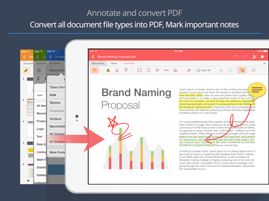 Polaris Office 2018 -Docs, PDF Screenshots