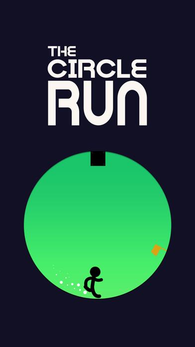 The Circle Run: Stickman Games