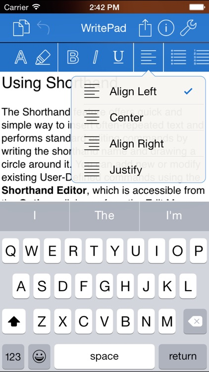 WritePad Professional screenshot-1