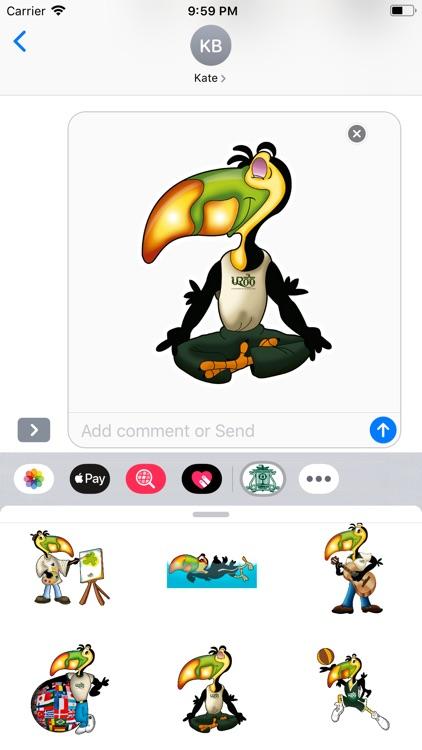 UQRoo Stickers screenshot-9