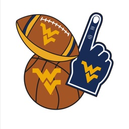 West Virginia Mountaineers Selfie Stickers