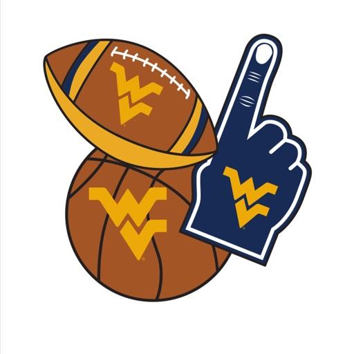 West Virginia Mountaineers Selfie Stickers