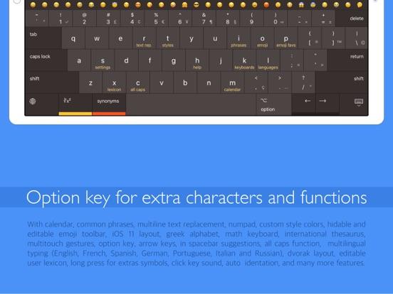 Pro Keyboard with PC layout Screenshots