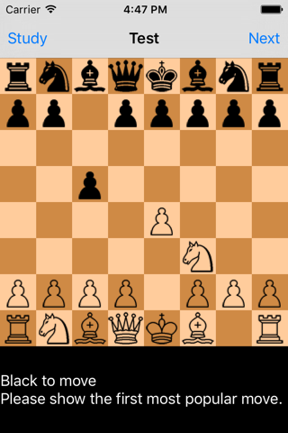 Chess Opening Trainer - náhled