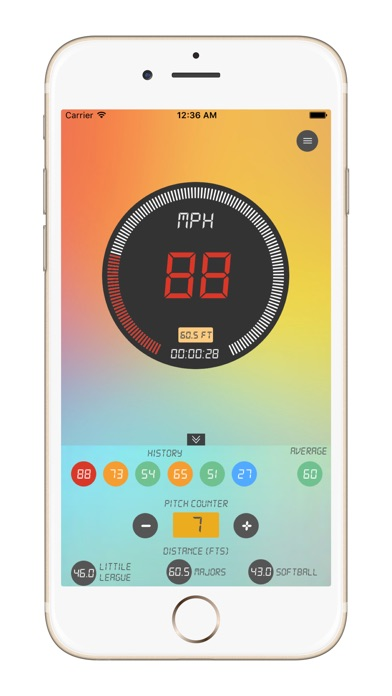download Baseball Pitch Speed Radar Gun apps 2