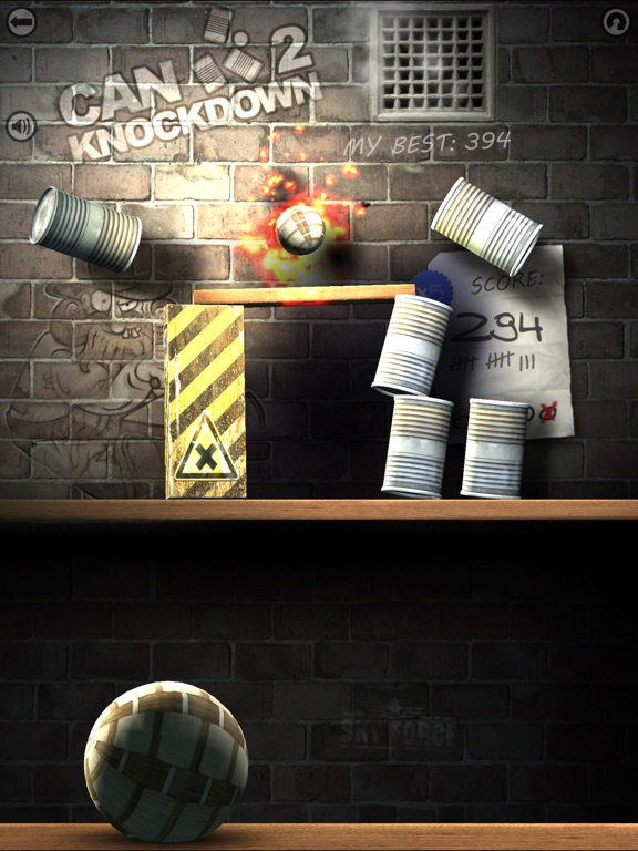 Игра Can Knockdown 2