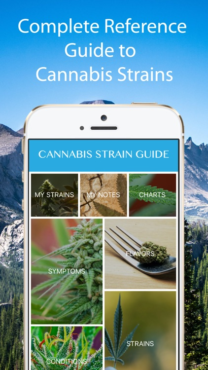 Cannabis Strain Guide screenshot-0