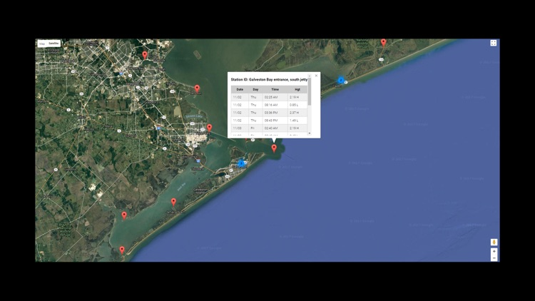 Texas Tides by NOAA