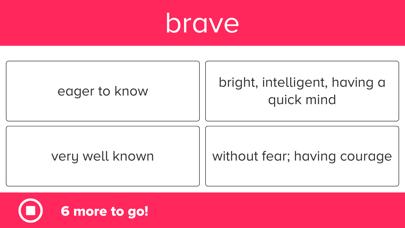 3rd Grade Vocabulary Prep Screenshots