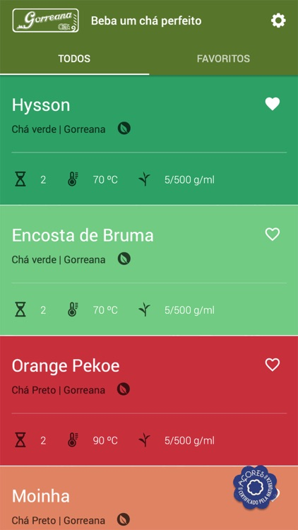 Tea Timer Gorreana