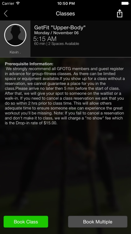 Get Fit On The Go Fitness screenshot-3