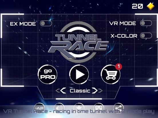 VR Tunnel Race: virtual reality time tunnel racing screenshot