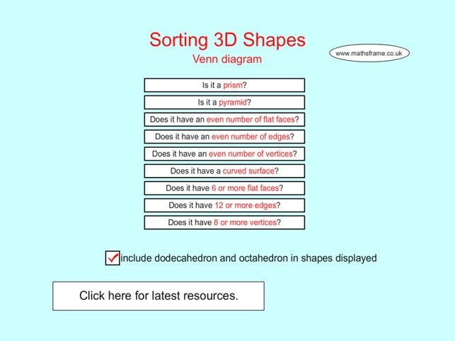 Sorting 3d shapes venn diagram on the app store screenshots ccuart Images