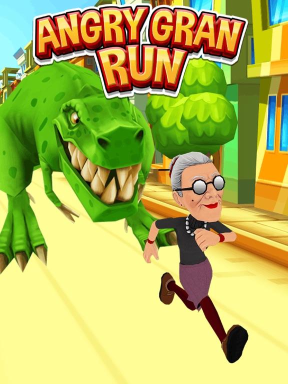 愤怒的老奶奶跑酷截图4