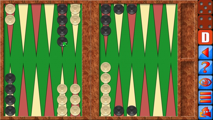 Backgammon V+, top dice game screenshot-0