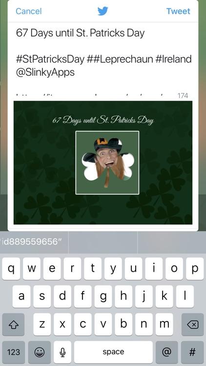 Saint Patrick's Day Countdown