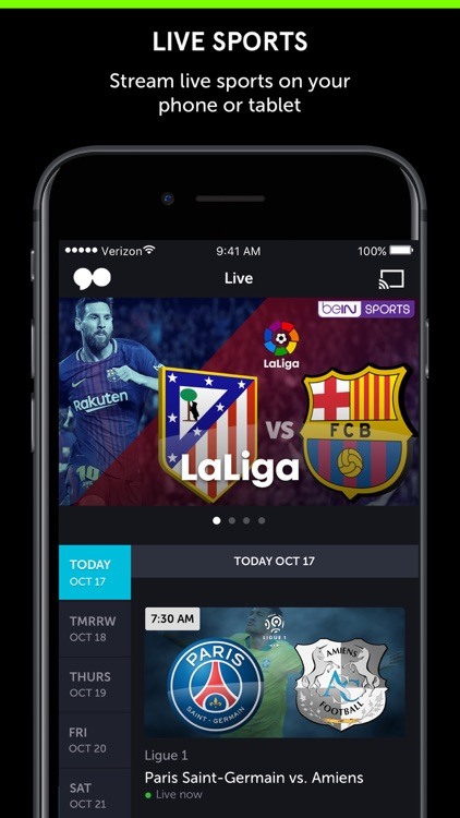 go90 – Stream TV & Live Sports screenshot-2