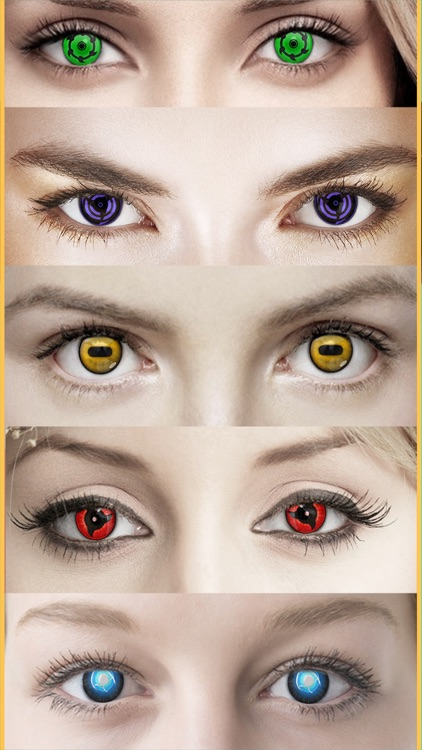 Eye Color Changer Anime Editor screenshot-3