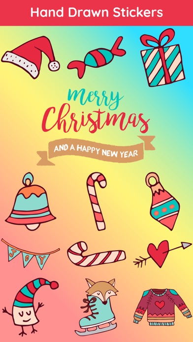 Merry Christmas Cheer Sticker
