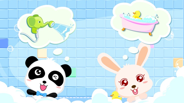 Bath Time-BabyBus screenshot-3