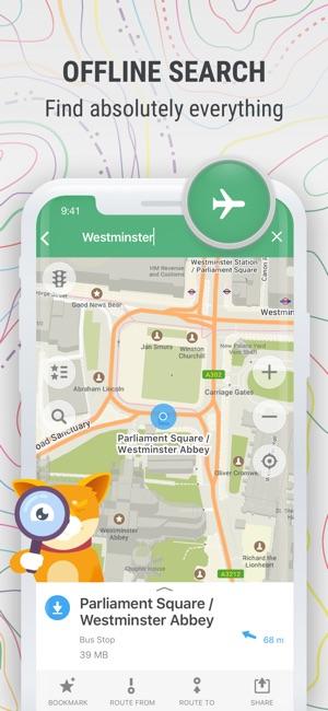 Maps offline map nav on the app store me offline map nav on the app store gumiabroncs Image collections