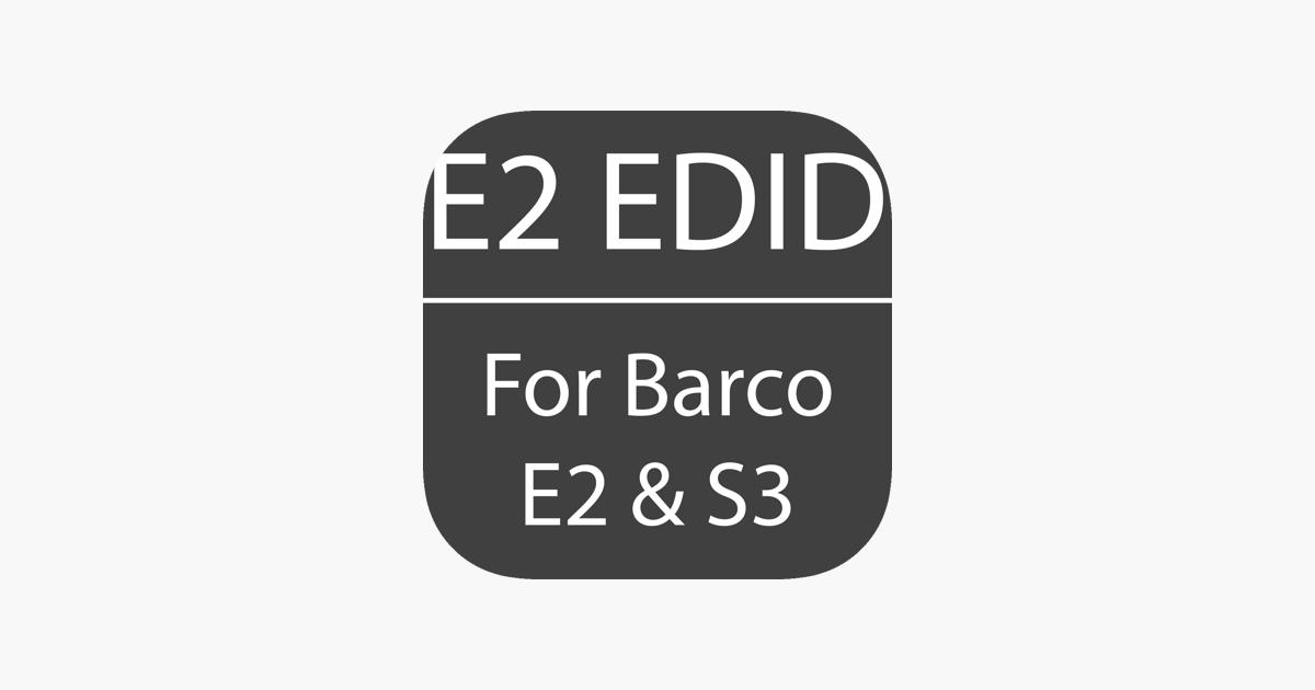 E2 EDID