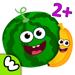 82.趣味食物!婴儿童游戏小宝宝拼图益智幼儿园教育3-5岁