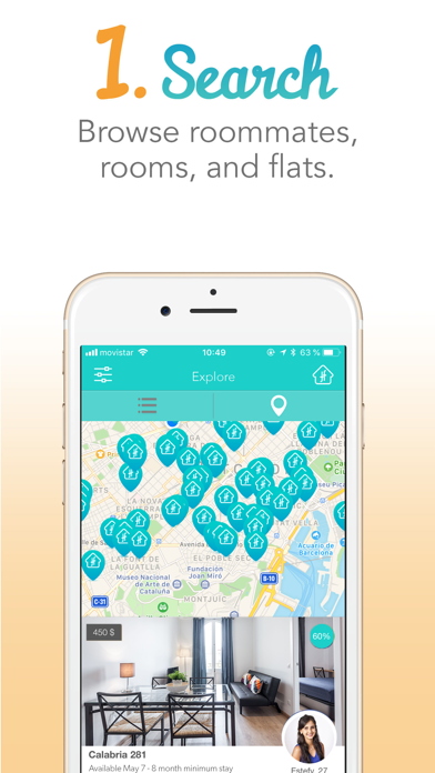 FlatFit:flatmates & sparerooms screenshot three