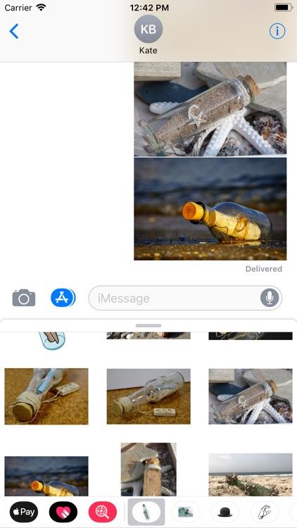 Message In A Bottle Stickers screenshot-4