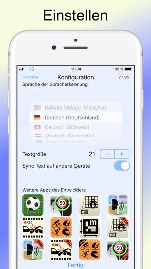 Diktat Sprache Zu Text Im App Store