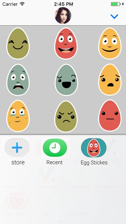 Egg Animated Chat Stickers screenshot-3