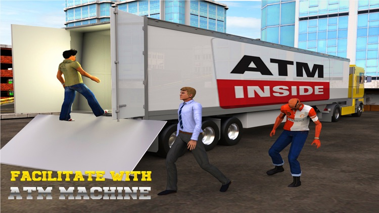 Atm Truck Driving Simulator 3D screenshot-0