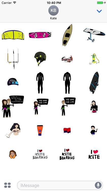 Kite Stickers