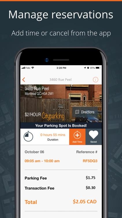 CityParking - Parking app