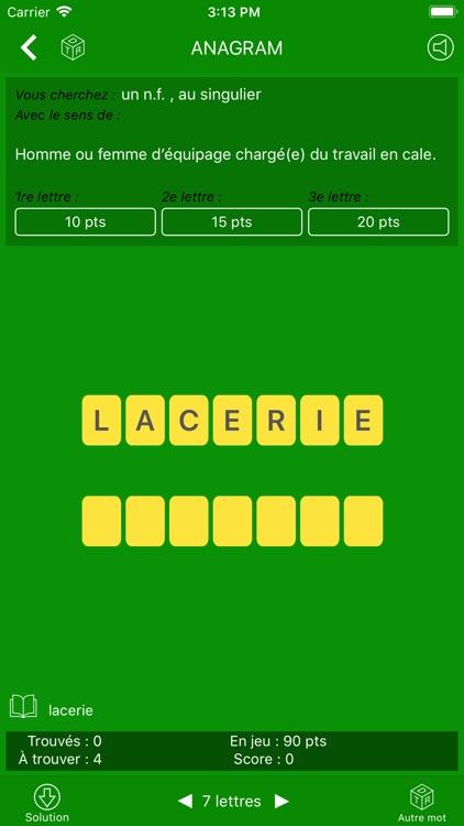 Dictionnaire Le Robert Mobile screenshot-8