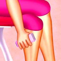 Women leg shaving : The Soft Skin Girl Beauty Time - Free Edition