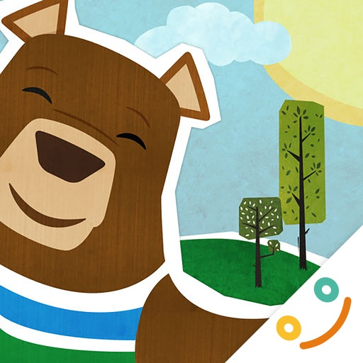 Mr. Bear fun forrest kids game