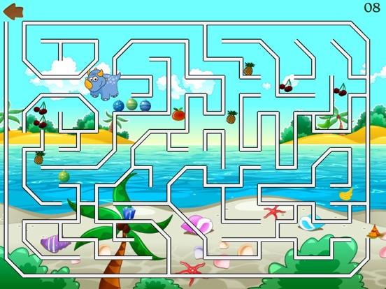 Скачать игру Dino Maze: kids learning games