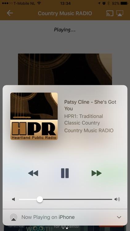Country Music RADIO screenshot-3