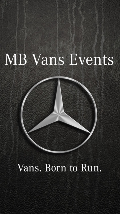 MB Vans Event-App